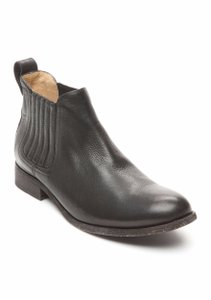 Frye Leather Edgy Chic Black Boots