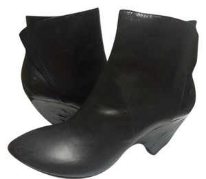 Marsll Leather Ankle Black Boots