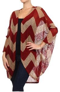 Belle by Sigerson Morrison Sweater Crochet Chevron Cardigan
