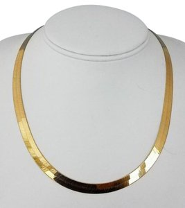 Other ** NWT ** HERRINGBONE 14K GOLD women's ( 6 MM / 18