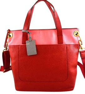 Fossil Tote in red multi