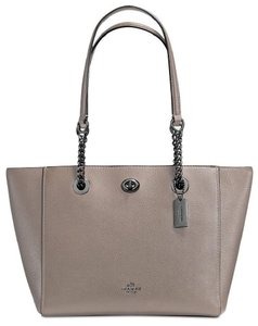 Coach Tote in Fog Grey
