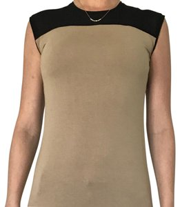 Ann Taylor Top black and brown