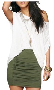 Free People Skirt Olive Green