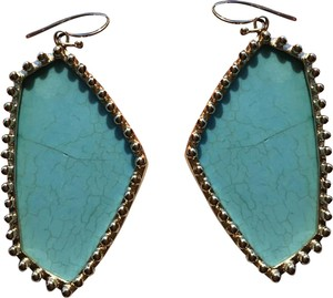 Kendra Scott Vintage Turquoise and Gold