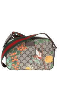Gucci Tian Camera Web Gg Supreme Shoulder Bag