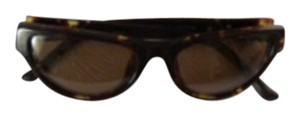 Linda Farrow LINDA FARROW 53018 Leather Wrap Sunglasses