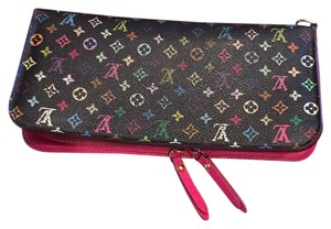 Louis Vuitton Multicolored Monogram Black Insolite wallet