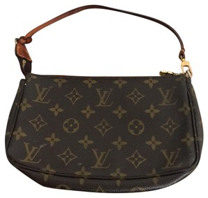 Louis Vuitton Hand Clutch Speedy Neverfull Delightful Wristlet in brown Monogram
