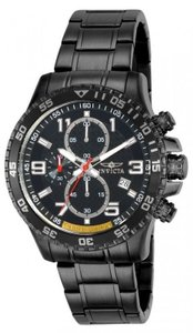 Invicta 14885 Men's Specialty Chronograph Limited Edition Stainless Steel Blac