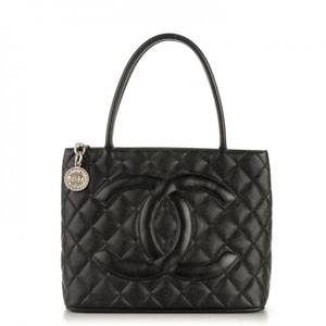 Chanel Luxury Caviar Leather European Tote in Black
