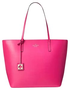 Kate Spade Leather New With Tags Tote in Pink