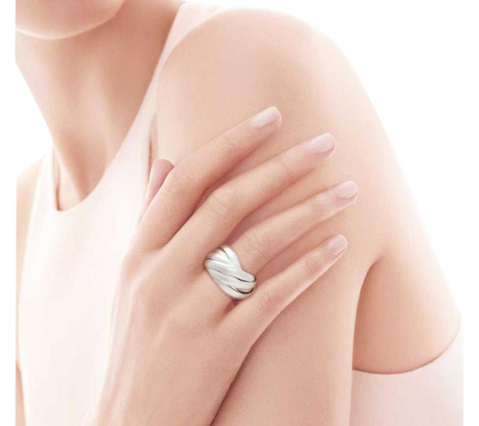 ce3b0d695 Tiffany & Co. Paloma Picasso Melody sterling silver 9 band ring Image 0 ...