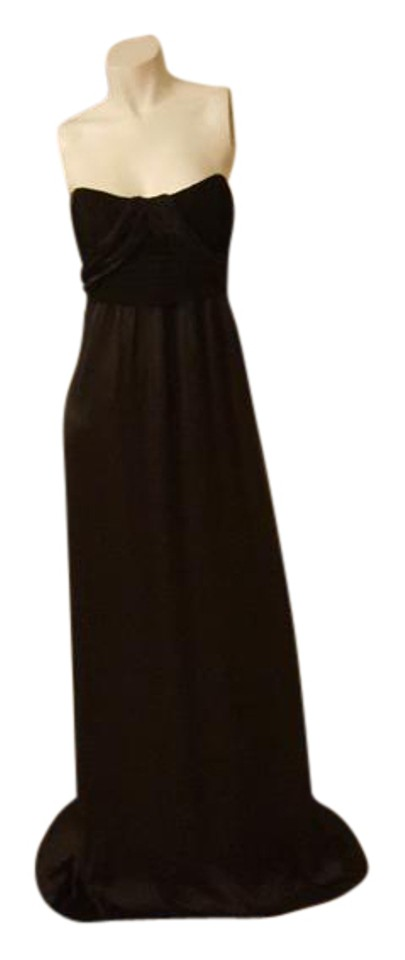 Nicole Miller Black Collection Strapless Long Formal Dress Size 6 S