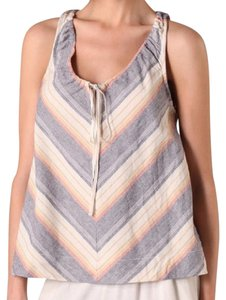 Elizabeth and James Striped Woven Top