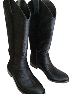 Vince Camuto Cowboy Cowgirl Western Black Boots