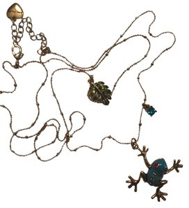 Betsey Johnson frog and lily pad
