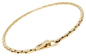 Cartier 18k Yellow Gold Authentic Cartier Agrafe Necklace