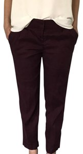 Ann Taylor LOFT Straight Pants purple