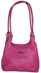 Koltov Collections Faux Leather Bright Classic Retro Signature Shoulder Bag