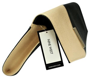 Nine West Beige and Black Clutch