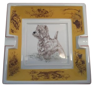 Hermès Hermes West Highland White terrier dog Ashtray