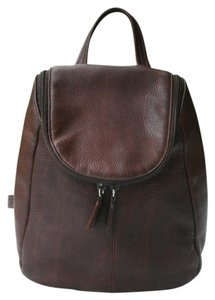 Tignanello Vintage Pebbled Leather Backpack