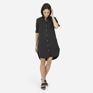 Everlane short dress Washed Black on Tradesy