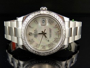 Rolex 41 MM 116300 Rolex Datejust II 2 White Mother of Pearl Roman Watch