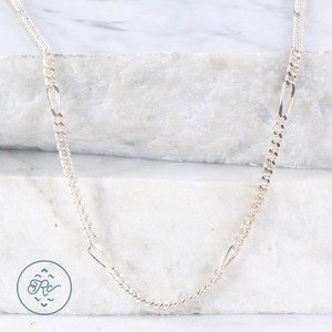 Other Sterling Silver - ITALY 3mm Unique Curb Chain 9.7g - Necklace (20