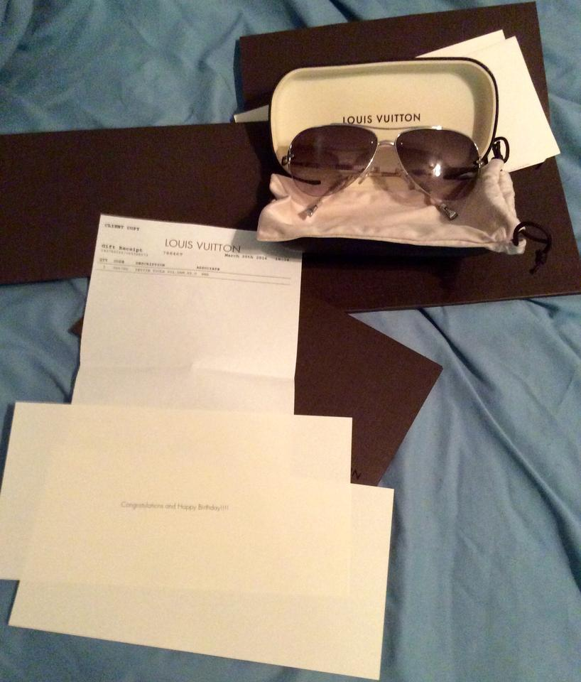 2ed0423782d Louis Vuitton Brand new Louis Vuitton Petite Viola Pilote aviator sunglasses  Image 0 ...