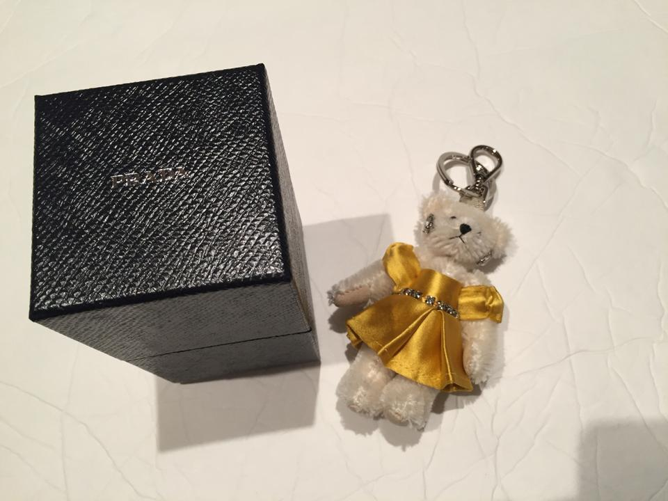 c7579a49da14 Prada NEW NIB Prada Jeweled Teddy Bear Keychain Bag Charm Image 0 ...