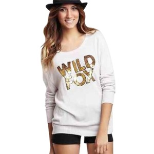 WildFox Couture Lilac Soft Fuzzy Sweater Sweater