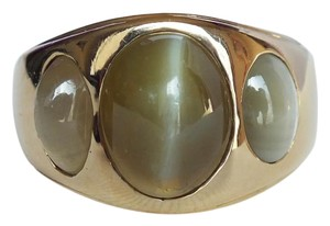 French 14k GOLD LADIES RING with