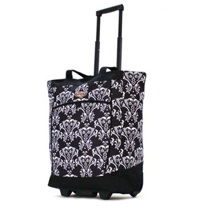 Charlotte Olympia Tote in damask