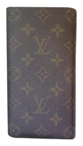 Louis Vuitton Louis Vuitton Monogram Chequier Long Bifold Wallet