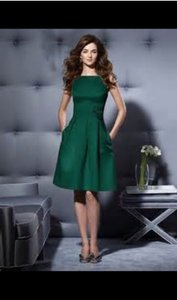 Dessy Hunter Green 2780 Dress