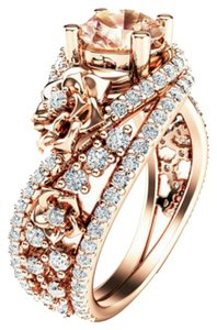 Olivias Jewels 18k Rose Gold Plated Ring