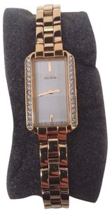 Citizen Eco-Drive Ladies Silhouette Crystal Gold Watch EG2782-53A SOLD FOR PAR