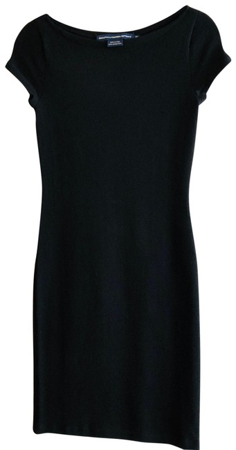 Preload https://img-static.tradesy.com/item/21268213/ralph-lauren-black-wool-knit-mid-length-short-casual-dress-size-4-s-0-4-650-650.jpg