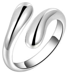 Other New Size Adjustable 925 Sterling Silver Plated Ring.