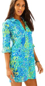 Lilly Pulitzer 'sea Lillys Printed Tunic