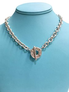 Tiffany & Co. Tiffany & Co. Sterling Silver 1837 Collection Toggle Necklace