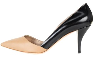 Lanvin black & tan Pumps
