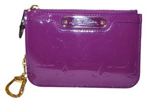 Louis Vuitton Purple Vernis Cles Key Pouch