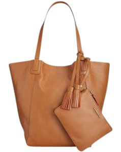 Lucky Brand Tobacco Reversible With Pouch Tote in brown