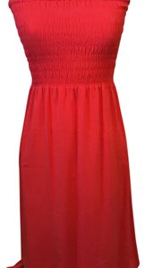 red Maxi Dress by Joie