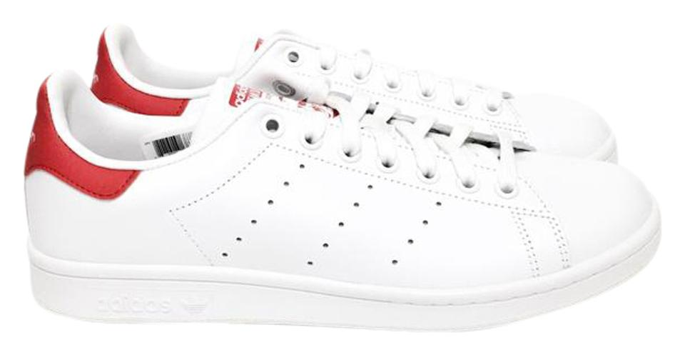 another chance 94203 e630b adidas Running White Collegiate Red M20326 Stan Smith Sneakers Size US 10  Regular (M, B)