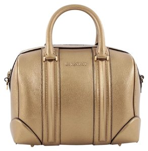 Givenchy Leather Satchel in Gold