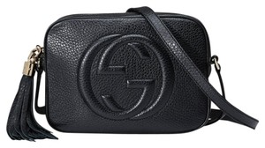 Gucci Soho Disco Leather New With Cross Body Bag